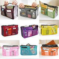 Органайзер для сумочки Bag-in-Bag . Косметичка. Разные расцветки