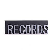 Вывеска Records