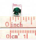 Стразы пришывные акриловые в металлической оправе 50 шт 5*5 мм, фото 2