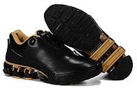 Кроссовки Adidas Porsche Design IV Leather Black Golden