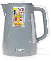Электрочайник 1,7л Saturn ST-EK8435Grey