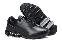 Кроссовки Adidas Porsche Design IV Leather Black Grey, фото 1