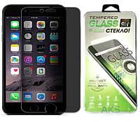 Защитное стекло PowerPlant Privacy Glass Apple iPhone 6 Plus (DV00PG0002)
