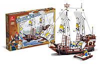 """Детский конструктор JIE STAR 30009 """"Корабль пиратов"""", 678 дет, Lego, лего Пираты, развивающие игрушки"""