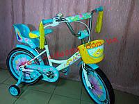 Детский двухколесный велосипед Герлз Girls 18 дюймов для девочек