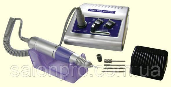 Фрезер для маникюра и педикюра Manna Power DM 868, 65 Вт,  35000 оборотов, серебро