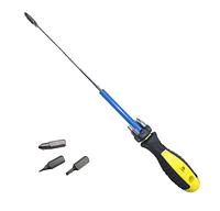 Отвертка Сталь с битами и магнитным держателем 7 в 1 (49047)