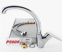 Смеситель кухонный Potato P5909 хром