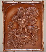 Сувенир-подарок из дерева «Орел»
