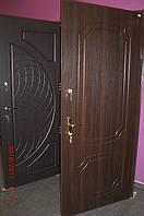 Двері металеві вхідні з мдф накладками