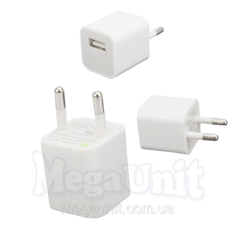 Зарядное устройство для iPhone 5/4/3 (кубик)