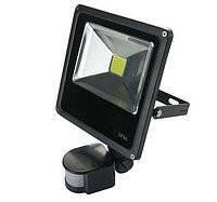 Матричный светодиодный прожектор с датчиком Lumen LED 30W slim, влагостойкий