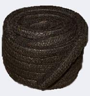 Набивка сальниковая АПР-31 6x6 - асбестовая, плетёная с латунной проволокой, канаты шнуры веревки производство