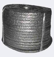 Набивка сальниковая ЛП-31 8x8 - лубяная плетеная, безасбестовый сальник, канаты шнуры веревки производство