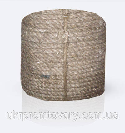 Канат (веревка) пеньковый тросовой свивки, диаметр ф 29 мм, канаты шнуры веревки производство, фото 2