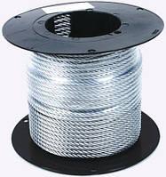 Трос нержавеющий А2, диаметр ф 10 мм, канаты шнуры веревки производство