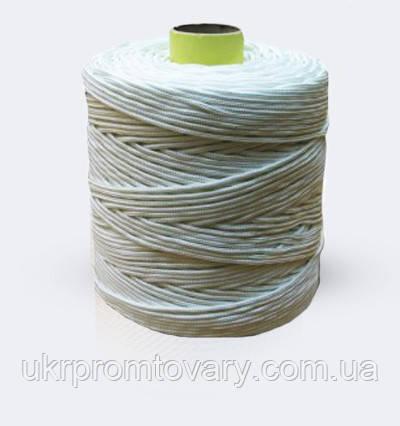 Веревка полипропиленовая крученая, диаметр ф 3,1 мм, канаты шнуры веревки производство