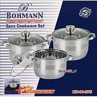Комплект посуды 6 пр. BOHMANN 06-395 из нержавеющей стали