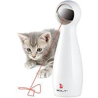 Интерактивная лазерная игрушка для кошек ПЕТСЕЙФ ФРОЛИКЕТ БОЛТ ЛАЗЕР