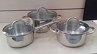 Набор посуды ( Набор кастрюль ) 6 предметов Lessner Provence 55935
