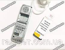 BM 50 mini - мини телефон / Bluetooth-гарнитура белого цвета., фото 3