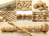 Токарные деревянные изделия