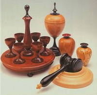 Токарные изделия древесины