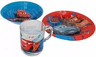 Набор для детей 3 пр. Disney Cars 2 Luminarc 2128l