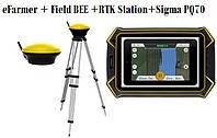 Система параллельного вождения eFarmer+FieldBEE+RTK Station+монитор Sigma PQ70 , фото 1