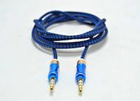 AUX кабель тканевый 1,5 м