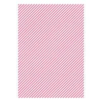 Бумага дизайнерская А4 (200 гр/м) Полоска розовая косая