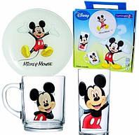 Набор детский 3пр. Luminarc Disney Colors Mickey 5320h