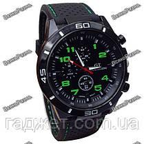 Street Racer GT Мужские часы Черные с зеленым, фото 2