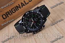Street Racer GT Мужские часы Черные с зеленым, фото 3