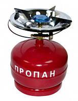 Газовый баллон на 5 литров с горелкой Украина