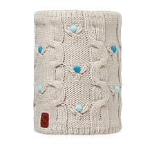 Бафф Buff Junior Neckwarmer Knitted and Polar Dysha Mineral/Cru