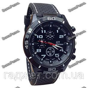 Мужские часы Street Racer GT Черные с белым., фото 2