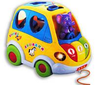 Автошка детская развивающая музыкальная игрушка