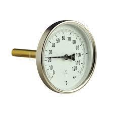 Термометр біметалічний з занурювальний гільзою Watts