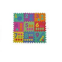 Мягкий Детский Коврик Мозайка-цифры M0375 для малышей