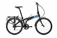 складной велосипед TERN Node D8 24 2017 (черный-голубой)