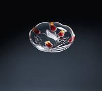 Набор тарелок Nadine Satin Red Gold 180 мм WALTHER GLASS 3шт.
