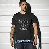 Многослойная футболка для мужчин рибок BK5010 - 2017
