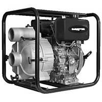 Мотопомпа Grunfeld HP100DTPE для слабозагрязненной воды