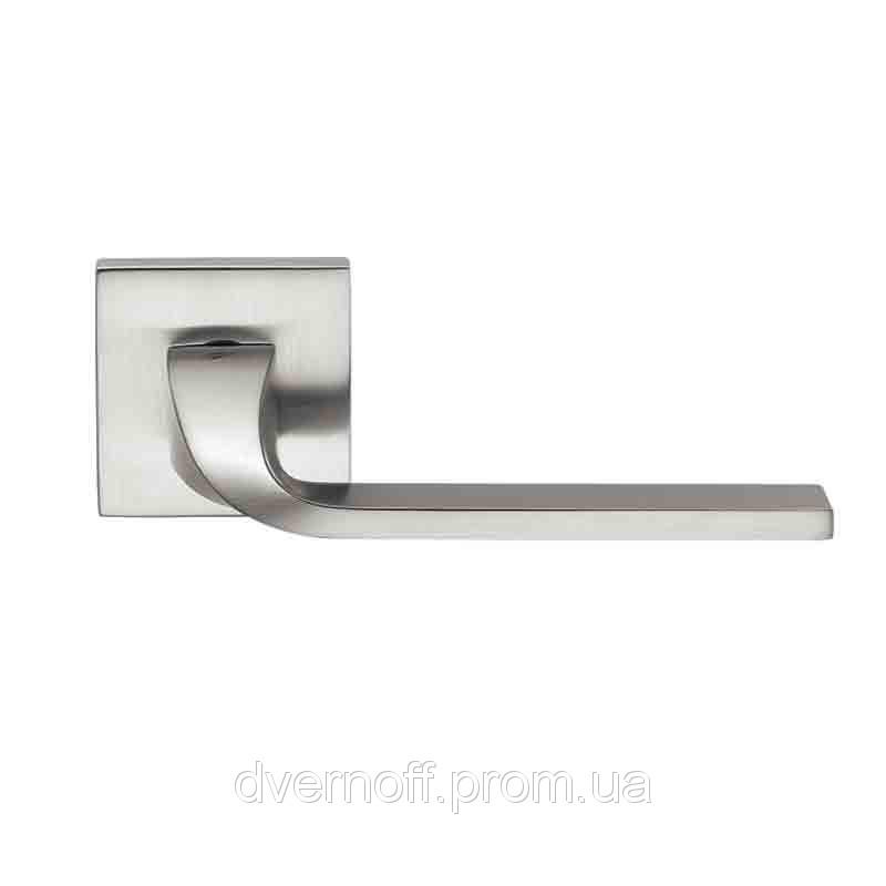 Дверные ручки Colombo ISY BL11 RSB мат. хром ф/з (роз. 6 мм)