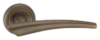 Дверные ручки межкомнатные Solo матовая античная бронза  A1202 MAB