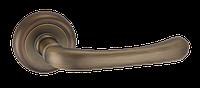 Дверные ручки межкомнатные Solo матовая античная бронза A2075 MAB
