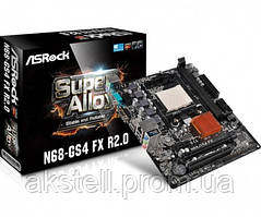 ASRock N68-GS4 FX R2.0 Socket AM3+