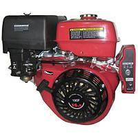 Двигатель бензиновый Bulat BТ190FЕ-L(редуктор 1/2,шпонка 25мм, эл/старт)