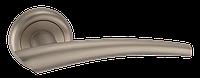 Дверные ручки межкомнатные Solo матовий  никель  A1202 SN